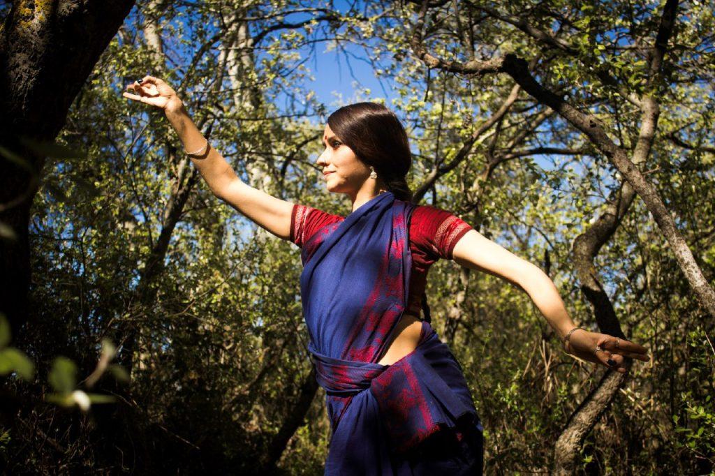 Danse Odissi saree